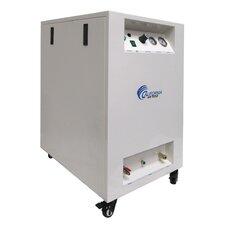 8 Gallon Ultra Quiet/Oil-Free 1 Hp Air Compressor