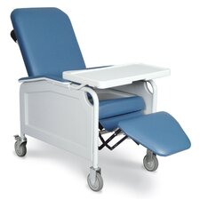 Three Position Lifecare Recliner with Tray