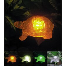 Solar Turtle with Color Change Lighting