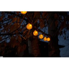 Aurora Glow Solar 6 Light String Light