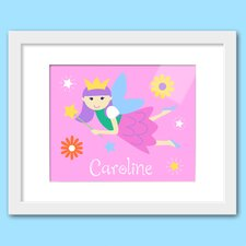 Fairy Princess Personalized Framed Art