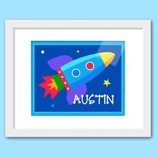 Out of This World Personalized Framed Art
