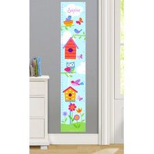 Birdie Personalized Peel and Stick Growth Chart