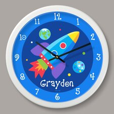 "Out of This World Personalized 12"" Wall Clock"