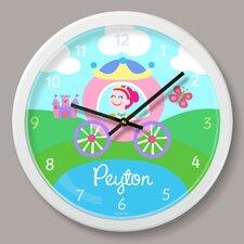 "Princess Personalized 12"" Wall Clock"