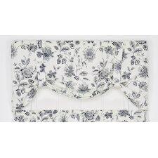"Winston Floral Print Tie-Up 60"" Curtain Valance"