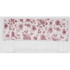 "Winston Floral Print Tailored 70"" Curtain Valance"