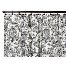 Victoria Park Cotton Toile Shower Curtain