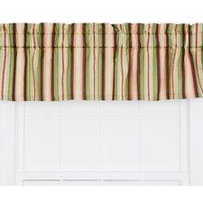 Mateo Medium Scale Stripe Print Tailored Curtain Valance