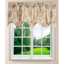 Cadogen Lined Scallop Curtain Valance