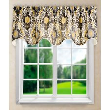Tuscany Lined Scallop Curtain Valance