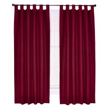 Crosby Insulated Tab Top Foamback Curtains Panel (Set of 2)