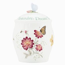 Butterfly Meadow Sentiment Cookie Jar