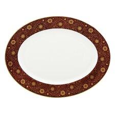 Floral Majesty Oval Platter