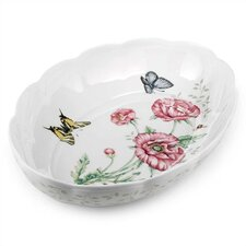 Butterfly Meadow Oval Baker