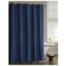 American Denim Cotton Shower Curtain