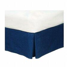 American Denim Bed Skirt