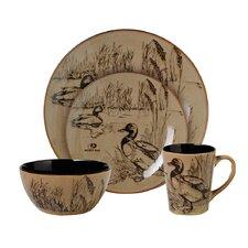 Mossy Oak 16 Piece Dinnerware Set