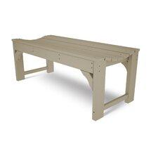 Traditional Wood Gadern Bench
