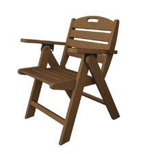 Nautical Low Back Beach Chair