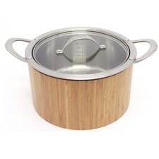 Cook n'Serve Stainless Steel Round Casserole