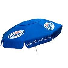 6' Miller Lite Poly Umbrella