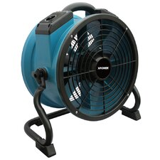 "Professional 12"" Floor Fan with 3-Hour Timer"
