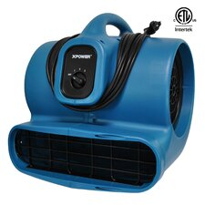 Air Mover with GFCI Outlet for Daisy Chain