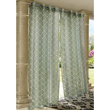 Outdoor Décor Wrought Iron Single Curtain Panel