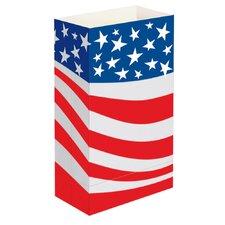 Americana Luminaria Bags (Set of 24)