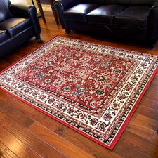 TajMahal Red Oriental Area Rug