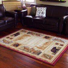 Wilderness Beige Area Rug