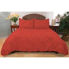3 Piece Pouf Down Alternative Mini Comforter Set