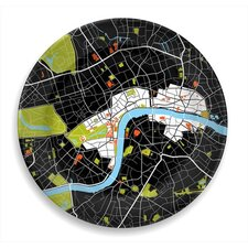"City on a Plate 12"" London Dinner Plate"