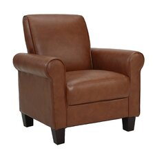Rollx Faux Leather Arm Chair