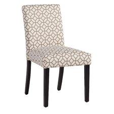 Milan Dining Chair in Gray Geometric