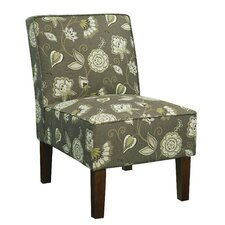 Alexandra Side Chair in Green Floral