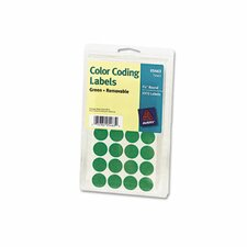 Print or Write Removable Color-Coding Labels (Set of 2)