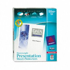 Diamond Clear Easy Load Sheet Protector