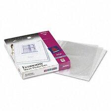 Top Loading Three-Hole Sheet Protector