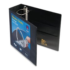 "4"" Nonstick Heavy-Duty EZ D-Ring Reference View Binder"