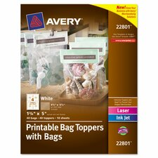 Printable Bag Topper (40 Pack)