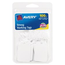 "1.75"" x 1.09"" String Marking Tag 100 Count"