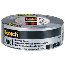 20 Yards Black Duct Tape 1020-BLK-A