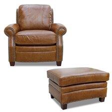 Ashton Arm Chair and Ottoman