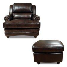 Bentley Arm Chair and Ottoman
