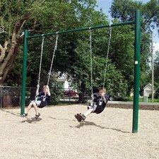Single Post Swing Set