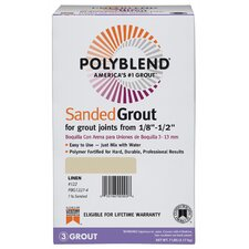 Sanded Tile Grout 7lb (Set of 4)