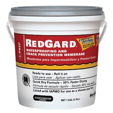 Waterproofing and Crack Prevention Membrane 1 Gallon (Set of 2)