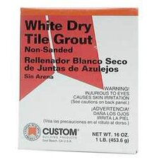 Dry Non-Sanded Tile Grout 4.5lb (Set of 4)